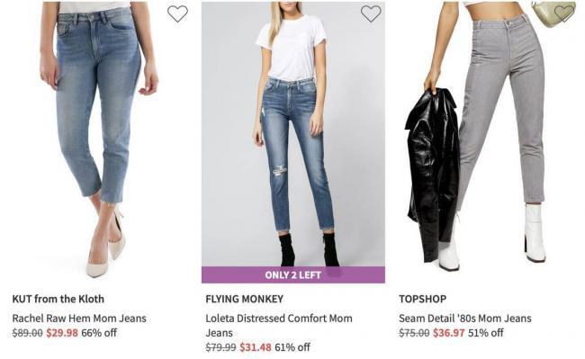 Расскажем, где купить джинсы мом