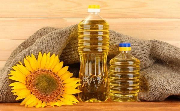 Что растворяет подсолнечное масло